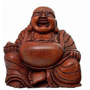 the buddha brings happiness