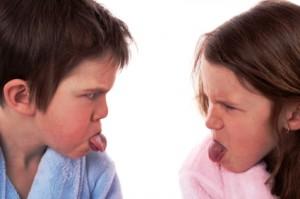 teasing kids